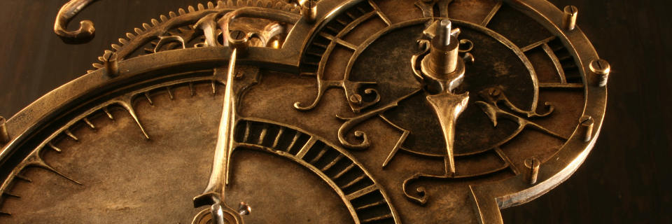 Détail d'une horloge Steampunk (EricFreitas.com)